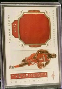 Rockets James Harden jersey patch card Lakewood, 90712