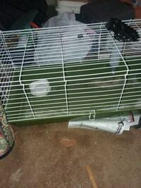 green and white pet cage Knoxville, 37922