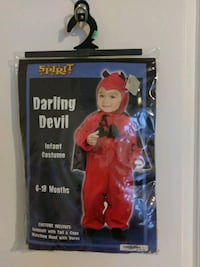 Devil costume 6-18 month brand new Mount Pleasant