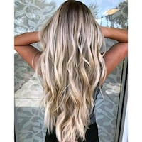 Tape and fusion hair extensions for $100!!!!! Eugene