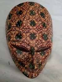 Very nice decorative wooden African Mask Montreal, H9H 1E3