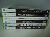 XBOX 360 games. $30 takes all.