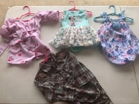 Baby girl clothe all for $30 or $4 each Laredo, 78046