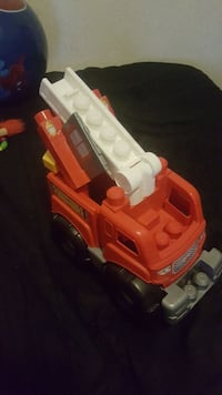 red and white firetruck plastic toy Sacramento, 95838