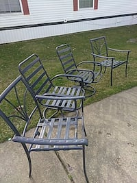 Patio chairs (4) Romulus, 48174