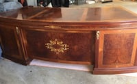 Hand in Lay Marquetry Desk Mc Lean, 22101