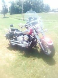 black and red touring motorcycle Jamestown, 42629