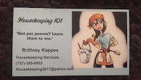 House cleaning Norfolk, 23503
