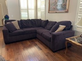 Comfortable Two piece sectional