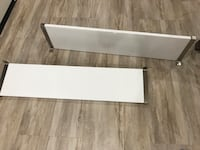 2 White lacquered shelves  San Clemente, 92672