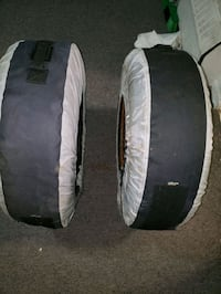 Two Winter tires,  like  new with  rims  Toronto, M3N 2H8