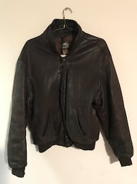 ROOTS Leather Jacket TORONTO