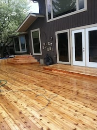 Get your deck and fence project completed before the end of summertime Calgary