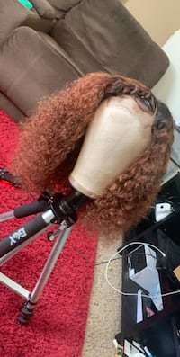 Curly lace closure wig  Virginia Beach