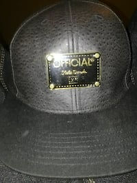 black Official fitted cap