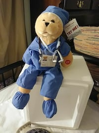 Dr bear plush toy. ANIMATED, Sings Springfield, 01118