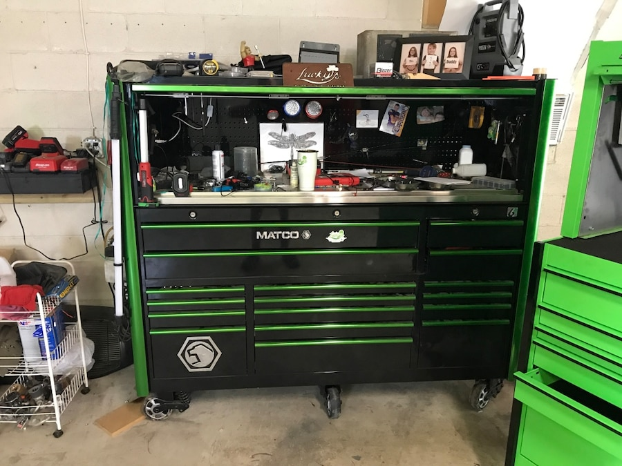 Matco 6S Toolbox and Hutch