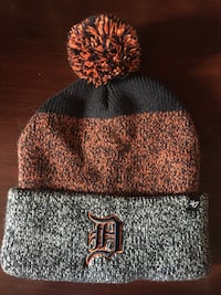 Detroit tigers winter tuque baseball hat BRAND NEW Windsor, N8R