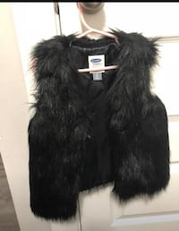 Euc Kids Faux Fur vest Surrey, V3R 6S7