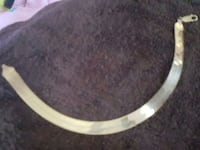 10kt gold bracelet, very wide and long Boca Raton, 33428