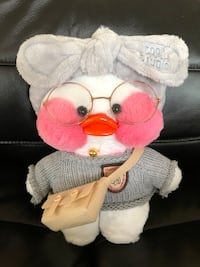 white and pink bear plush toy Antioch, 94531