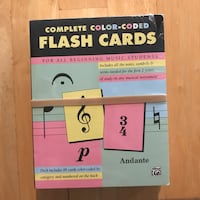 Flash Cards for All Beginning Music Students Hoboken