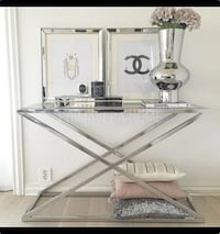 New Zig Zag Style Console Table Toronto