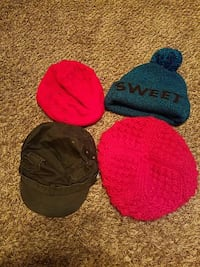 four knit caps Hagerstown, 21740