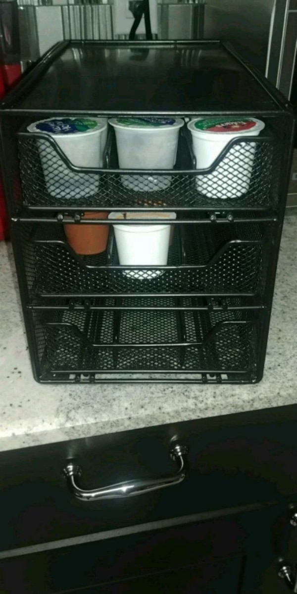 Coffee k cup holder