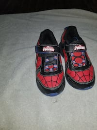 toddler's red-and-black velcro shoes San Diego, 92113