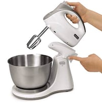 Sunbeam Hand and Stand Mixer - Mixmaster Combo Sterling, 20164