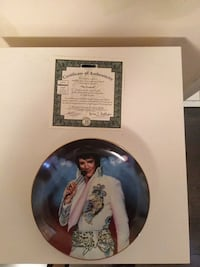 "Bradford Exchange ""Remembering Elvis"" Collectible Plate Set Toronto, M1E 5K6"