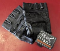 Leather Motorcycle Gloves (New)