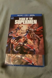Reign of the Supermen. Blu-Ray, DVD, and digital.