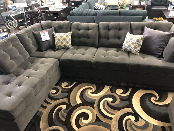 Grey Sofa Sectional for sale!