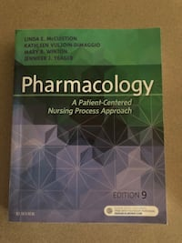 Pharmacology: A Patient Centered Nursing Process Approach