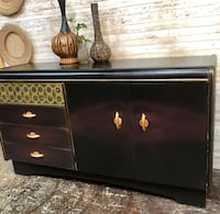 Stunning refinished antique credenza Portland, 97202