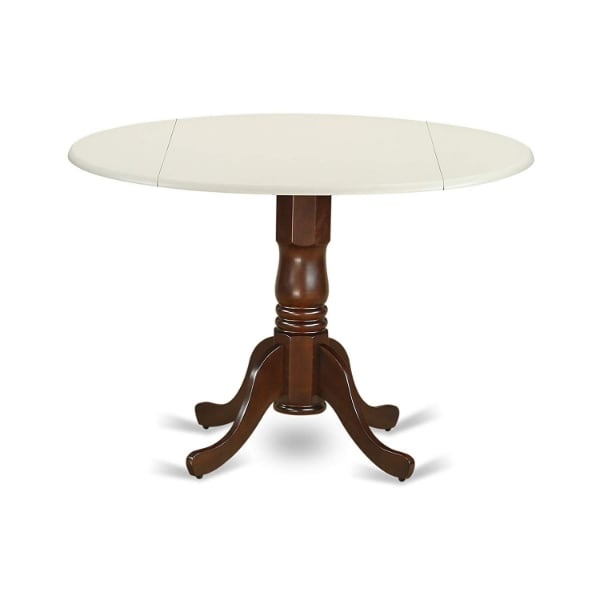 NEW!!! Round Dining Table with Drop Leaves (Retail $127) ac4b93a2-d641-4af6-93df-d0f27d1d828b