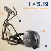 Precor 5.19 EFX Elliptical Sterling, 20164