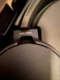 MDR-XB550 wired headphones