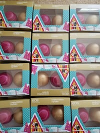 New twin pack EOS lip balms- 5 for $10. Rockville