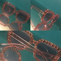 Sexy pink diamond sunglasses for sale  Toronto, M3L 1S2
