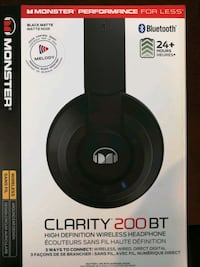 Monster Clarity 200BT Headphones Langley, V2Y 3J4