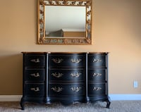 brown wooden dresser with mirror San Diego, 92130