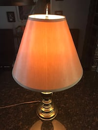 white and brown table lamp Germantown, 20874