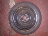 spare 14 inch tire woth rim