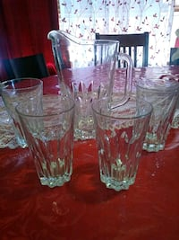 Glass set $20 Fort Pierce, 34982