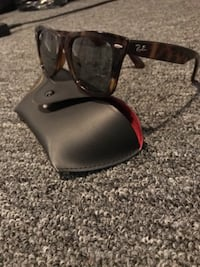 Printed colored Ray Ban Sunglasses Garfield Heights