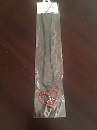 Heart peace sign necklace  Moreno Valley, 92557