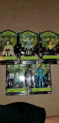 Rick & Morty Action Figures Series1 Funko Lot Calgary, T1Y 5N8
